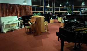 Showroom Cox Pianoservice